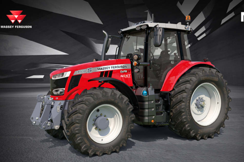 De Massey Ferguson 7719 S NEXT EDITION geeft nóóit op
