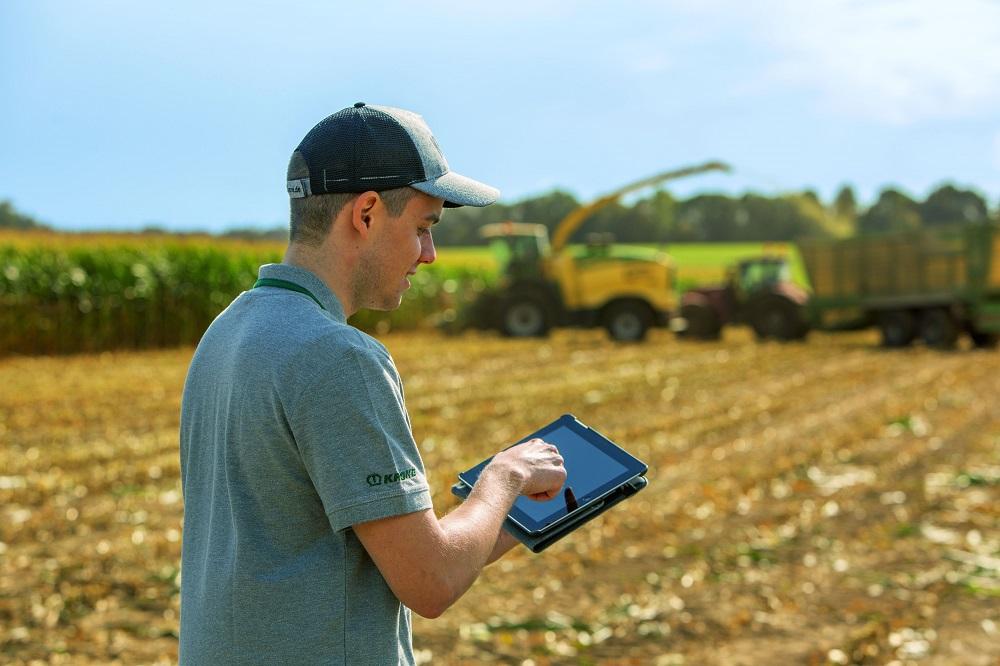 Twee jaar gratis testen: Krone Smart Telematics en agrirouter pakket