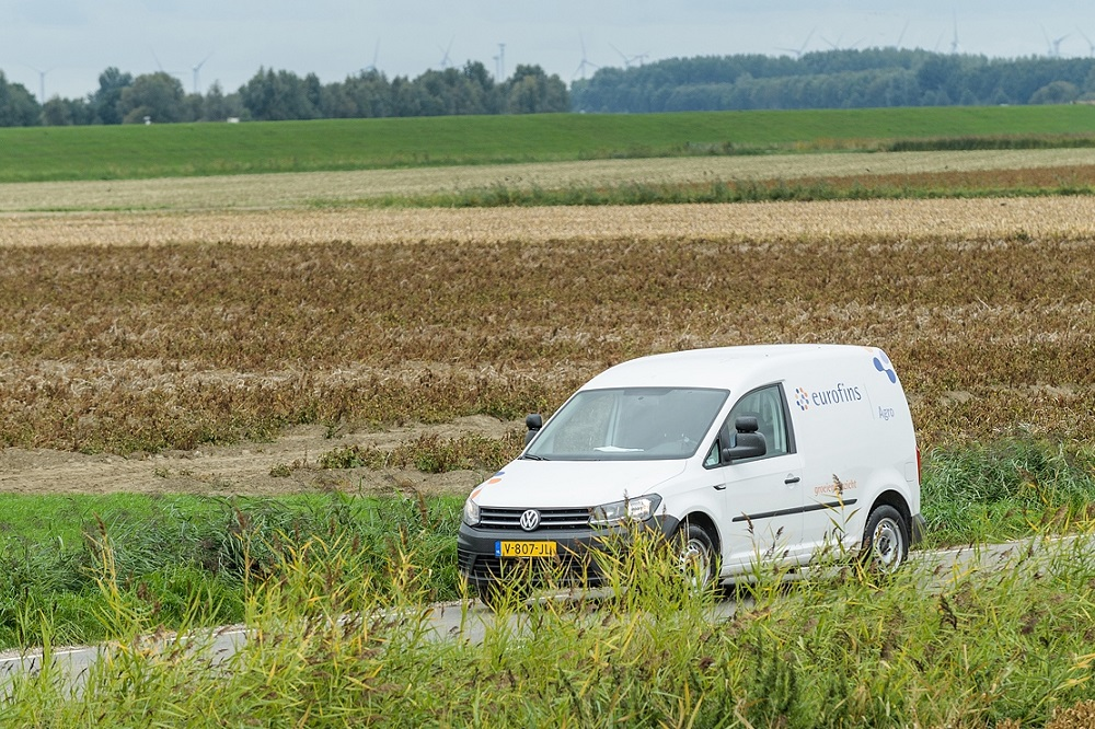 Grondonderzoek naar bodemziekten bij aanleg hoogspanningsverbinding