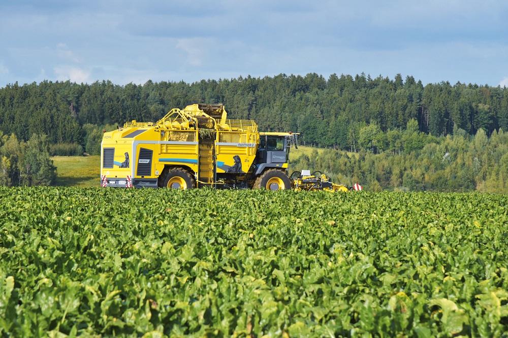 Panther 2S: Nieuwe ROPA bietenrooier voor gedeeltelijk autonome oogst